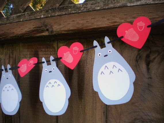 Cute Totoro banner for birthday party?