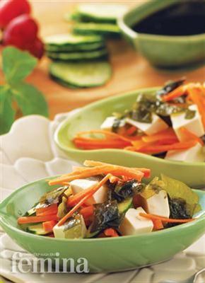 Femina.co.id: Salad Wakame #resep #menudiet