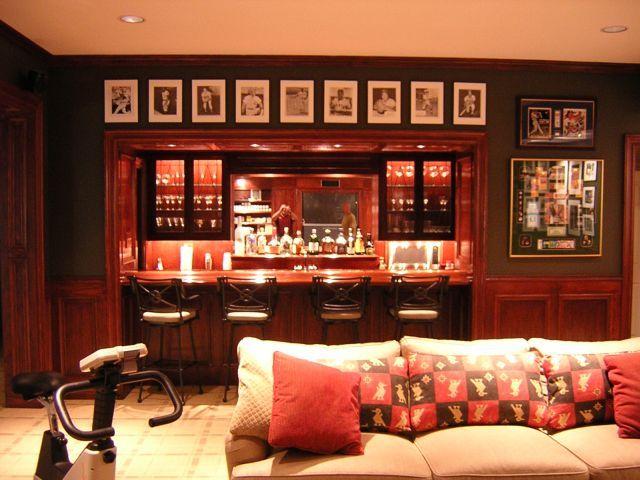 Home Bar Game Room Ideas