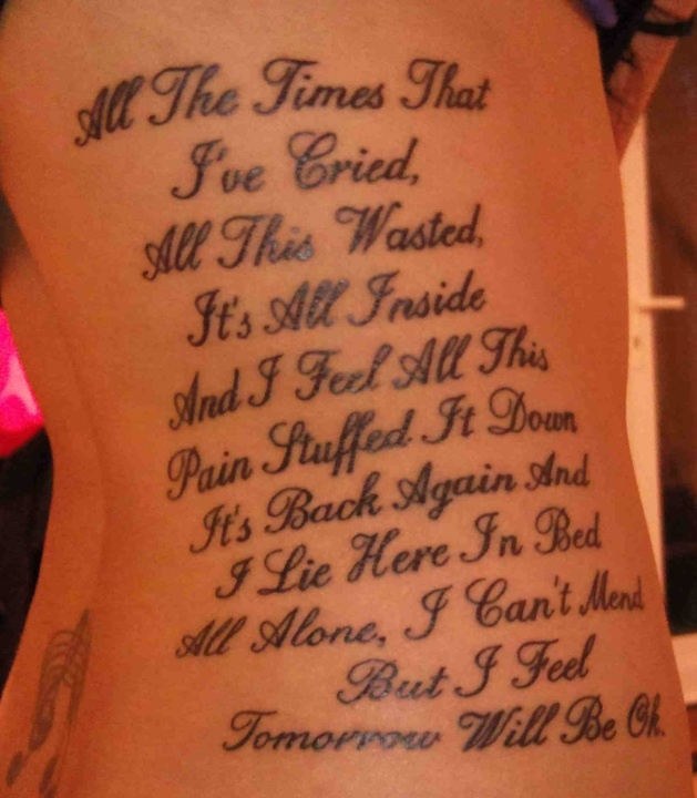 Tattoo Quotes Music: Best 25+ Staind Lyrics Ideas On Pinterest