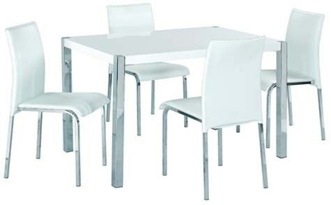 Gloss dining / wipeable chairs!