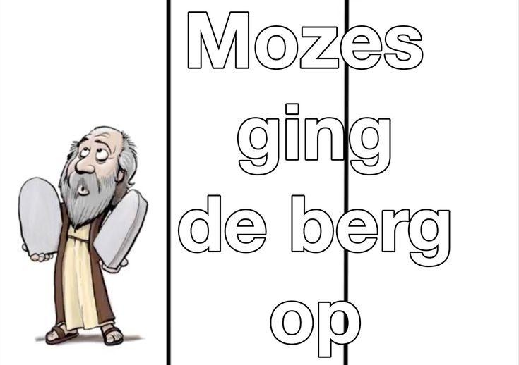 Mozes ging de berg op (met tekst) - Elly en Rikkert
