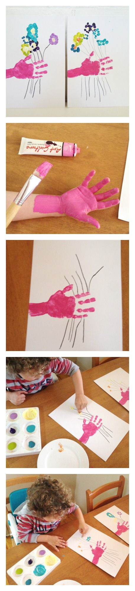 Mother's Day Craft: #mothersday, #mothersdaykids, #mothersdayart,