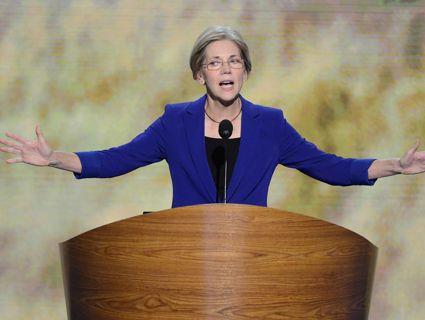 "Elizabeth Warren to Obama Administration: Take the Banks to Court, Already!  —By Erika Eichelberger  Tue May. 14,    also see...  Senate Agrees ""Too Big To Jail"" Should Die  —By Erika Eichelberger  Mon Mar. 25, 2013 @  www.motherjones.com/mojo/2013/03/senate-budget-amendment-jeff-merkley-too-big-too-jail"