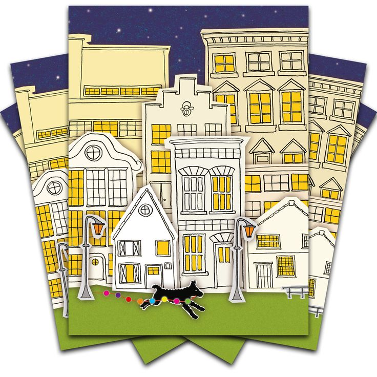 #stouthandel #dog #postcard #wenskaart #city #hond #stad #party #feest