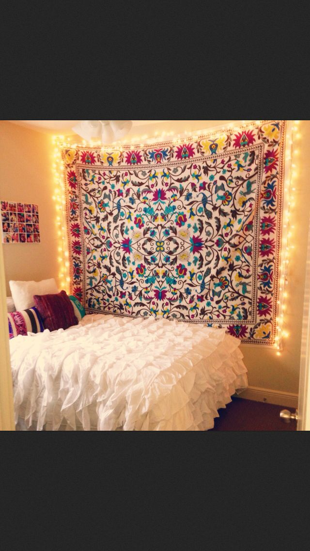Hang Tapestry In Dorm Room Home Decor Pinterest