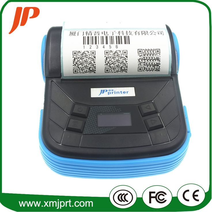 Portable 80mm Thermal barcode printer Qr code label printer receipt printer bluetooth android printer