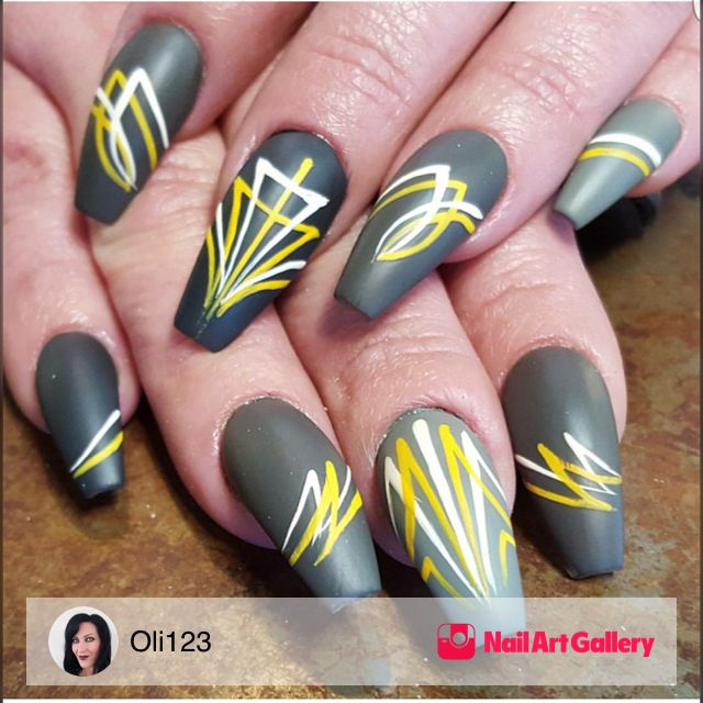 Pinstripe Nail Art Best Nail Designs 2018
