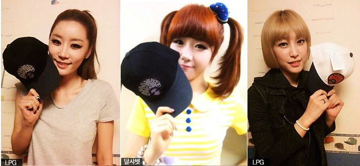 Yang Yo Seob Style JT Just in Time Korean Fashion Baseball Cap Dal Shabet
