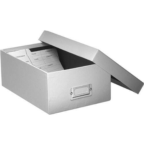 Pioneer Photo Albums B1-C Deluxe Photo Storage Box (White) B1C