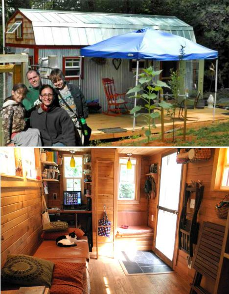 Cheap Eco Homes Salvaged Tiny House Debby Seabrook Pinterest Inspiration House And Tiny Houses