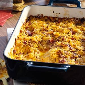 13x9 Potluck Recipes                     -                                                   Great for serving at parties, holiday brunches and other celebrations, it's easy to feed a crowd with these potluck appetizers, side dishes, breakfast casseroles and dessert recipes made in a 13x9 pan.