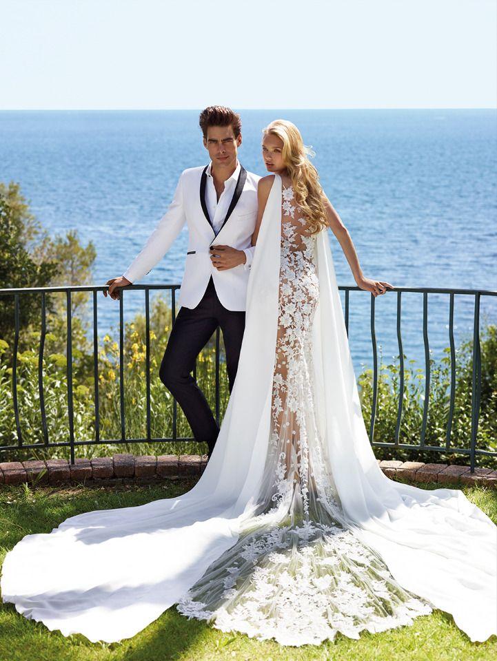 2017 Atelier Pronovias Nirara drop waist wedding dress from @pronovias