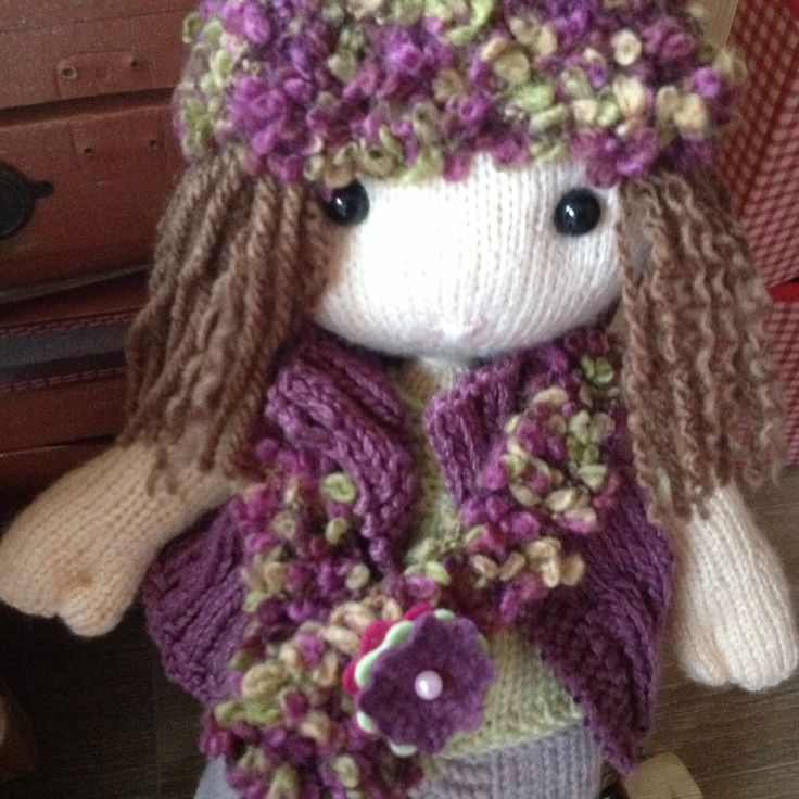 1000+ images about My hand knit dolls and teddy bears on Pinterest Baby han...