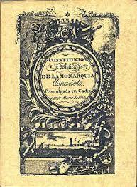 Durante la guerra, se elaboró en 1812, en Cádiz, la primera constitución española, conocida como la Pepa. Recoge los principales derechos de los ciudadanos, como por ejemplo el derecho al voto.