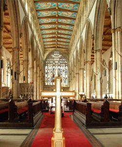 Holy Trinity Church, England's largest parish church and the spiritual heart of Hull.