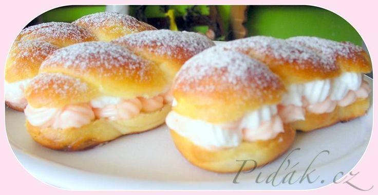 Obrázek z Recept - Pudinkáče s malinovým pudinkem a sněhem