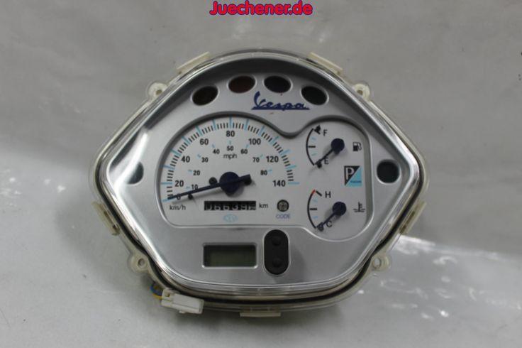 Vespa GT 125 200 Granturismo Tacho Tachometer Cockpit  #Cockpit #Geschwindigkeitsanzeige #Instrumente #Tacho #Tachometer Check more at https://juechener.de/shop/ersatzteile-gebraucht/vespa/gtgts/lenker-griffe-hebel-cockpit-gtgts/vespa-gt-125-200-granturismo-tacho-tachometer-cockpit/