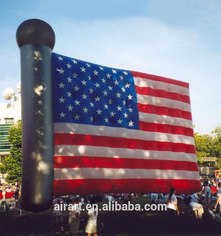 Inflatable USA Flag, giant inflatable USA Flag, outdoor decoration inflatable American Flag