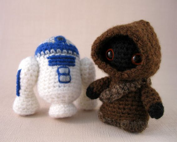 This is the crochet droid you're looking for.