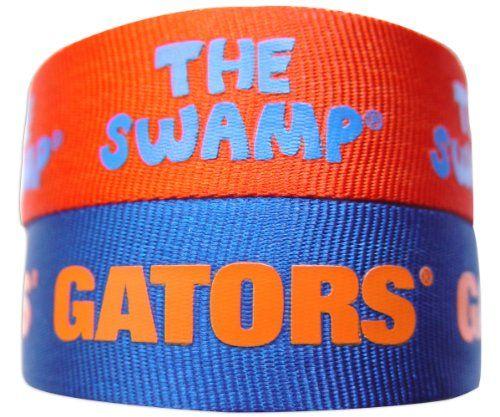 NCAA 2-Pack Slap Bracelet - Florida Gators  http://allstarsportsfan.com/product/ncaa-2-pack-slap-bracelet/?attribute_pa_teamname=florida-gators  Contains 2 slap bracelets team colors Officially licensed