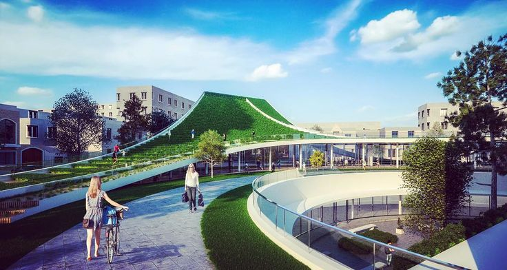 More on Senda Verde: The green peel to wrap around the historic Castagnino Museum #eraycarbajo #greenpath #architecture #design #rosario #argentina http://turkrazzi.com/ipost/1522939696538508621/?code=BUikZXKhN1N