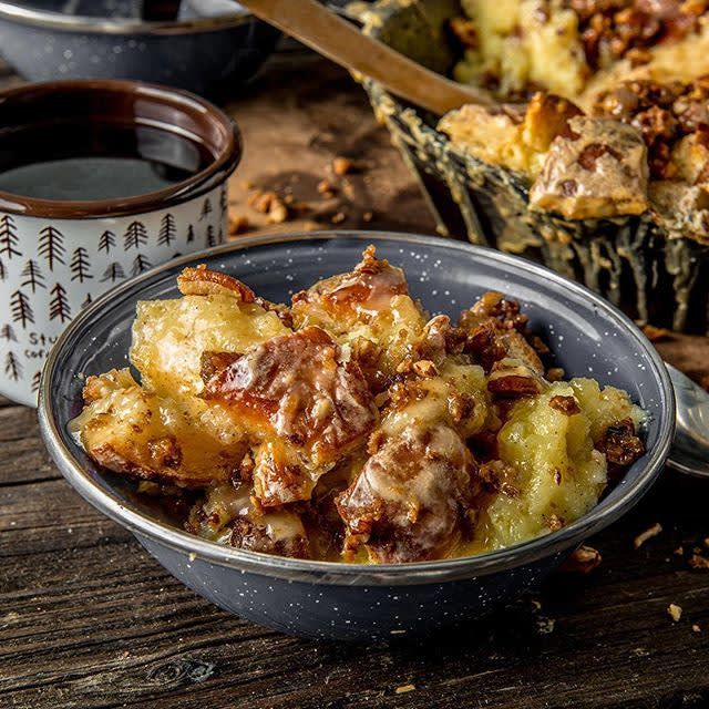 Baked Bread Pudding by Doug Scheiding Recipe | Traeger Wood Fired Grills