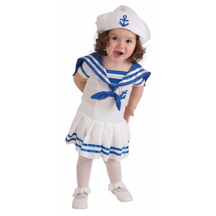 Disfraz Marinera Bebe ( 0 a 12 meses )