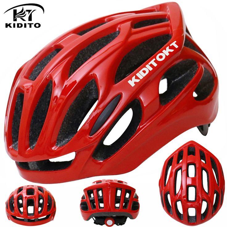 KIDITOKT High Quality Protone Cycling Helmet Casco Bicicleta Ultralight Intergrally-molded Bicycle Helmet Bike Helmet Ciclismo #Affiliate