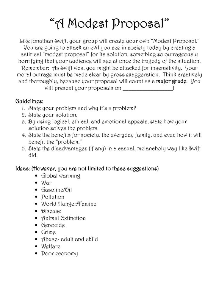 Best 25+ Modest proposal ideas on Pinterest | Rhetorical device ...