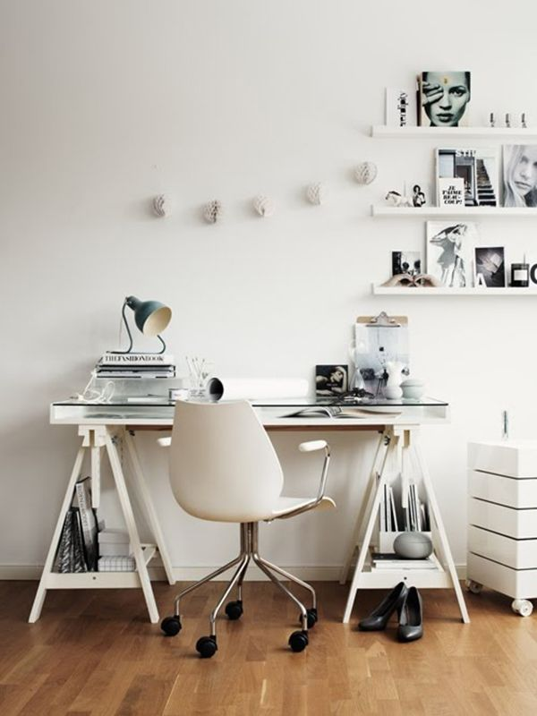 DREAM SPACES: WHERE I WORK  #interiors #workspace #scandinavian