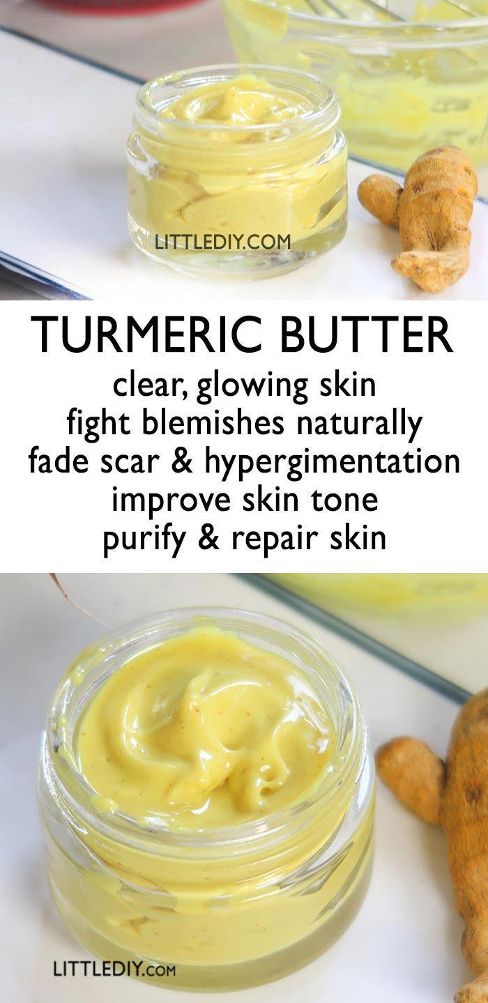 TURMERIC BUTTER for beautiful skin