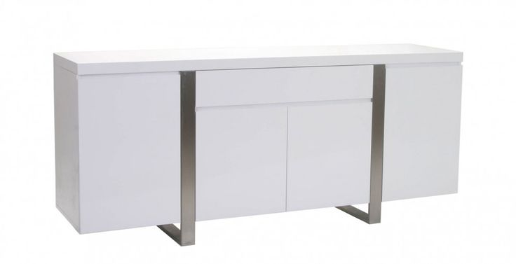 MADRID BUFFET WHITE $599 from $1000 180L x 45D x 78H (CM)