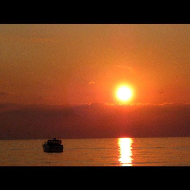 Grand Bend Ontario sunset