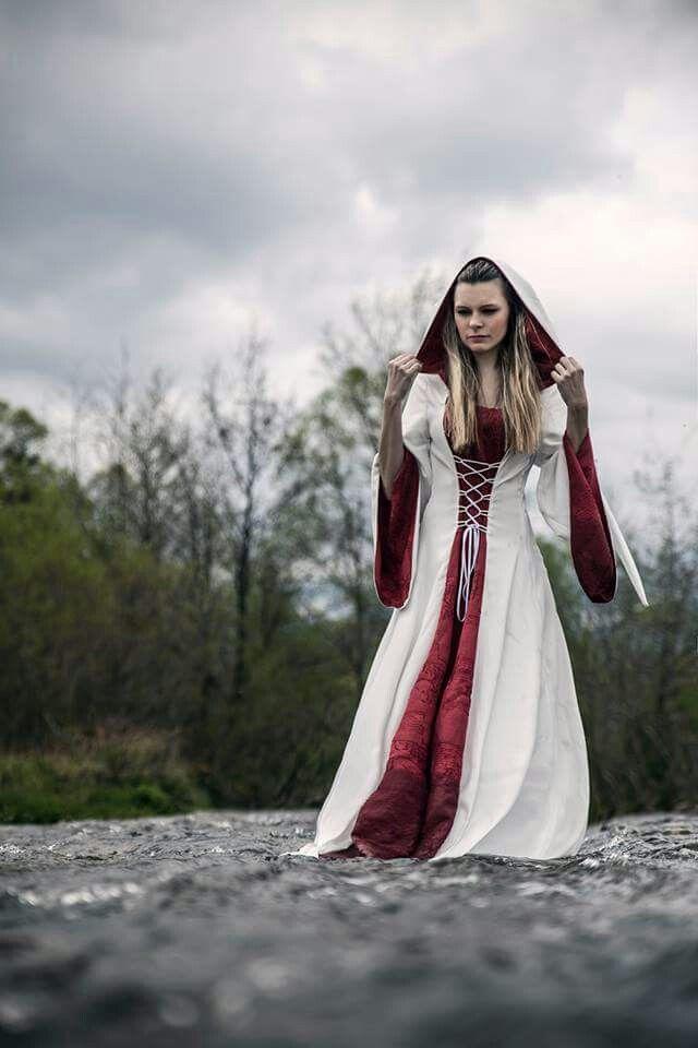 Queen Brunhild fantasy dress