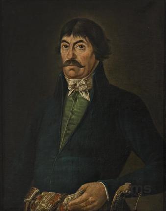 nieznany, Portret Rocha Wieczerskiego 1836 | Zbiory on-line Muzeum Sztuki w Łodzi