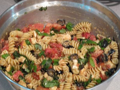 Ina Garten's pasta salad. Made summer pasta salad today-OMG it is delish!