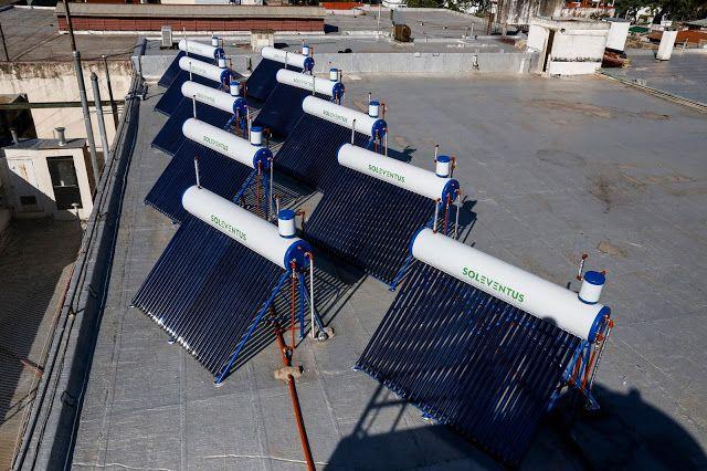 La ciudad instaló 11 termotanques solares en un hogar de cáritas   El Ministerio de Ambiente y Espacio Público a través de la Agencia de Protección Ambiental (APrA) concluyó la instalación solar térmica en el Centro Solidario San José en Parque Patricios que es el centro de acción solidaria de Cáritas más grande del país. Esta es la instalación térmica más grande de la Ciudad. Cada termotanque puede producir 300 litros diarios de agua caliente por día y en promedio permite un ahorro entre un…