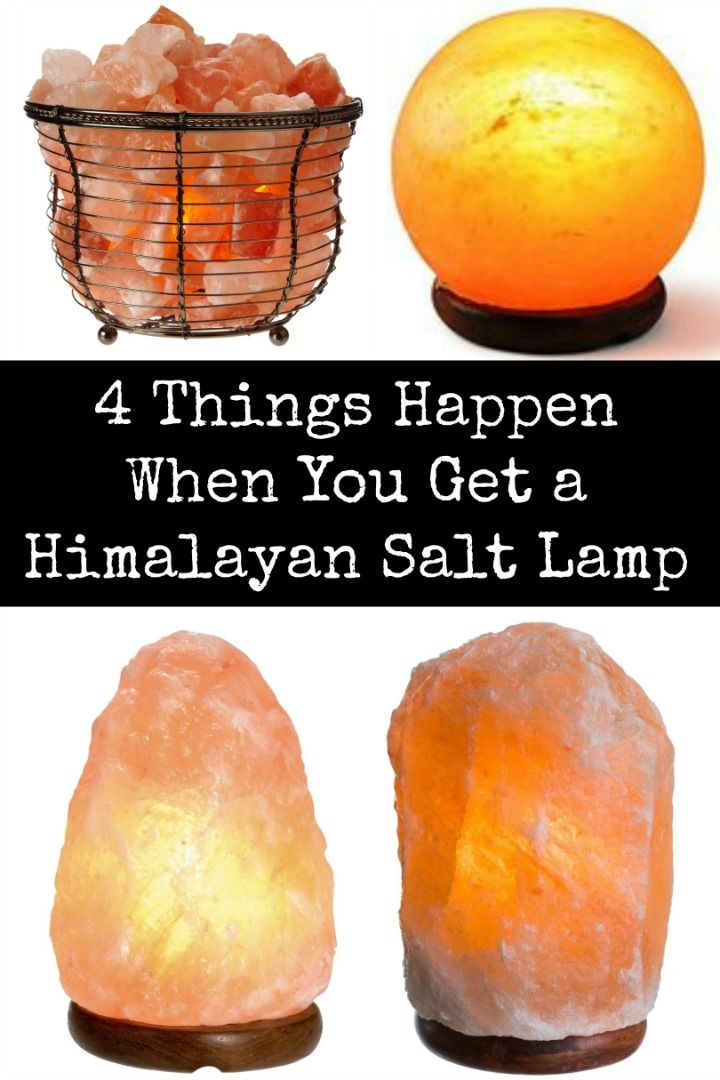 4 Things Happen When You Get a Himalayan Salt Lamp ~ Health Pinterest Anxiety, Himalayan ...