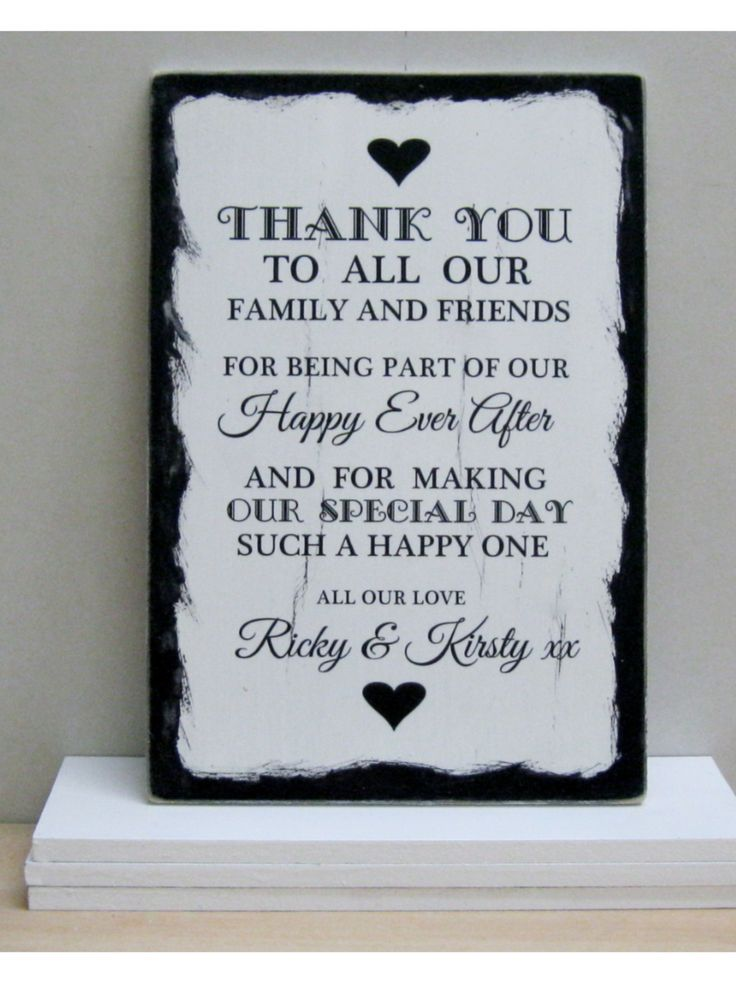 Wedding Gift Quotes Sayings: Thank You Wedding Guests @Heidi Haugen Haugen Ward Lambro