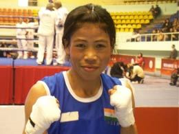Mary Kom comes home to a rousing welcome