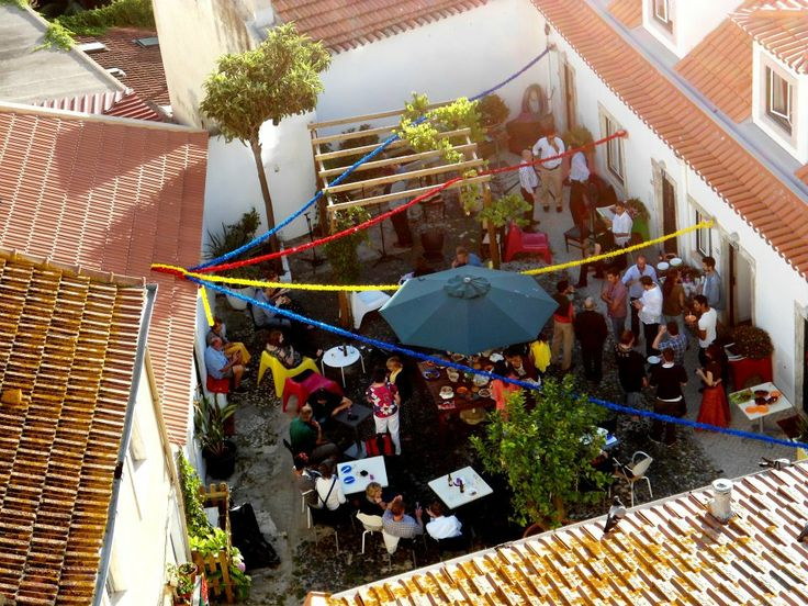 Festa de Santo António at Casa do Patio, 2012.  During June, the month of the Santos Populares, Lisbon fills with popular festivities that take over the city's historical center.