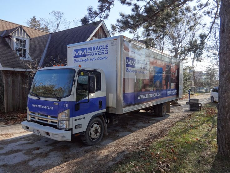 Not every moving company Toronto ON is able to protect your belongings the way we do. Our professional movers will drive the truck to your destination.  https://www.miraclemovers.com/ #toronto #canada #moving #movers #movingup #ontario #movingday #movingtime #work #lifting #crew