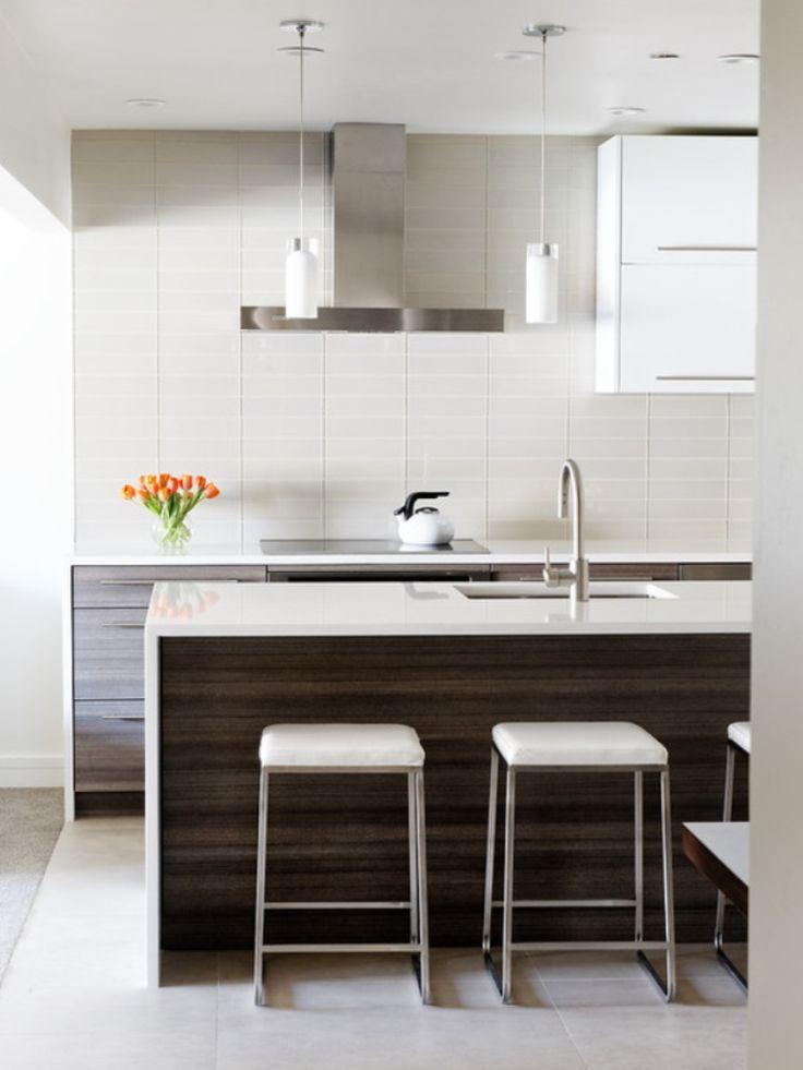White Wenge Kitchen