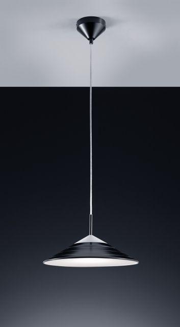 R32031202 Trio - TONI - závesná LED lampa čierna - 320mm