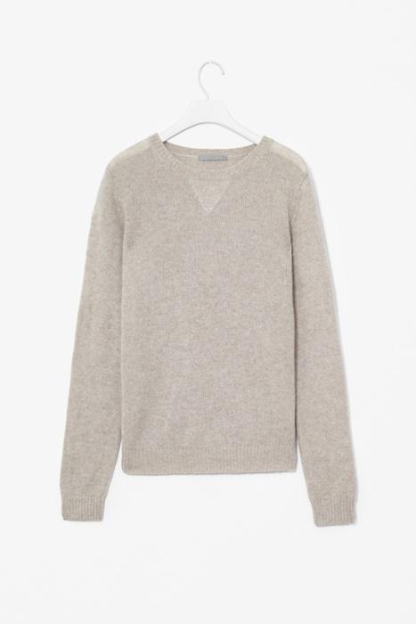 COS cashmere sweatshirt:
