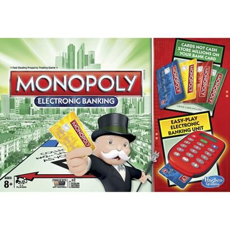 Monopoly Electronic Banking Game - Walmart.com