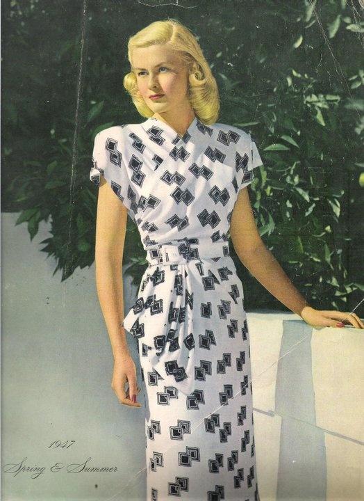 Spring Fashion, 1947