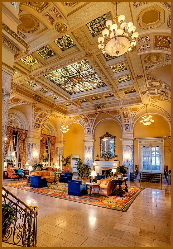 The Hermitage Hotel - Nashville, Tennessee.  I