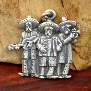 Sterling Silver - JAMES AVERY Mexican Mariachis charm